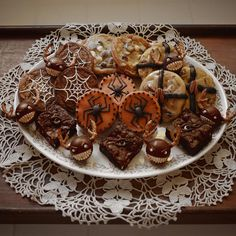 Assortment of beautiful treats made by Christine H McConnell.