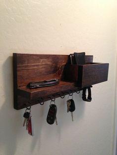 Key organizerwall organizerkey holdermail by azdesertwood on Etsy