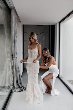 wedding dresses A Chic Garden Celebration in Ibiza - The Lane Wedding Dress Black, Princess Wedding Dresses, Dream Wedding Dresses, Bridal Dresses, Wedding Gowns, Lace Weddings, Winter Weddings, Burgundy Wedding, Evening Dresses For Weddings