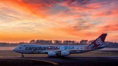 Fantastic image of Cargolux B747-8F freighter LX-VCM - by  Christiaan Van Heijst