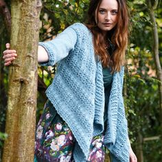 Wrap Cardigan Knitting Pattern