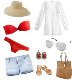 """beach"" by yanezvieyra on Polyvore"