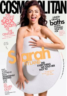 Sarah Hyland naked but covered for Cosmopolitan Magazine, USA - May 2020 Sarah Hyland, Mad Love, The Americans, Nurse Jackie, Ray Donovan, It Crowd, Alex Pettyfer, Boardwalk Empire, True Detective