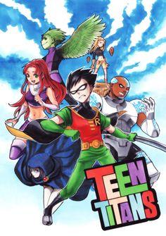 Teen Titans appreciation blog