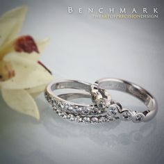 Follow @benchmarkrings to see more content!  #forgeretailer #forgewk34  Style #: (L to R) CF68100BKT & RECF58180CC.