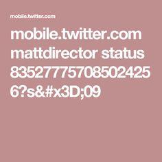 mobile.twitter.com mattdirector status 835277757085024256?s=09