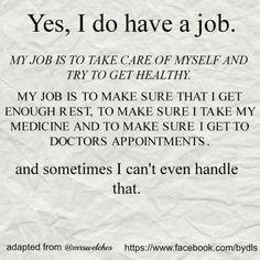My life with Lupus/Fibro/Hashimoto's Chronic Migraines, Chronic Illness, Chronic Pain, Types Of Arthritis, Psoriatic Arthritis, Ulcerative Colitis, Hypothyroidism, Illness Quotes, Pain Quotes