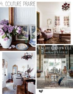 10 Must Have Decorating Books decor8 Couture Prairie & Flea Market Treasures by Rachel Ashwell