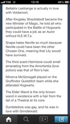 Harry Potter facts i still dont believe the last one. If anything, Dumbledore was asexual. JK only said that because there's no non-straight characters in the series. Harry Potter Facts, Harry Potter Quotes, Harry Potter Love, Harry Potter Universal, Harry Potter Fandom, Doge, Hp Facts, Yer A Wizard Harry, Mischief Managed