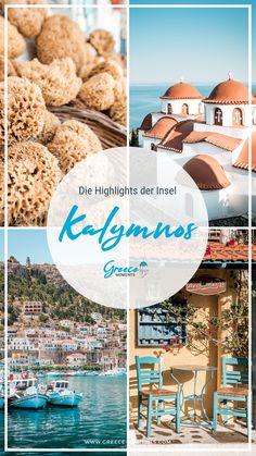Griechenland Kalymnos: Die Insel der Schwammtaucher ist die Nachbarinsel von Kos und ist ein Paradies für Kletterer und Gourmets. Auf Greece Moments verraten wir dir unsere Highlights auf Kalymnos und geben nützliche Reisetipps für einen Urlaub auf der Insel. #griechenland #geheimtipps #urlaub #inselhüpfen #greece #highlights #greecemoments #kalymnos #kos Greece Vacation, Unique Hotels, Beautiful Islands, Beautiful Places, Travel Companies, Highlights, Travel Agency, All Over The World, Travel Inspiration
