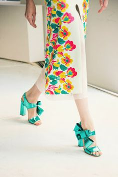 Laila Easum: DELPOZO- Spring 2014 ready-to-wear  OMG!  I can't take it...I love these shoes!!!