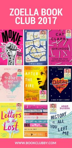 Zoella book club novels 2017 as picked by Zoella and her author friends. These are some of the best young adult books worth reading right now.