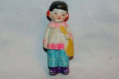 Vintage / Bisque Doll / Girl / Asian / Girl / by AmericanHomestead, $9.75
