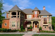 Hemingway 05224, Front Elevation, Mountain Style House Plans, Lake Style House Plans