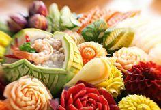Thaimaassa keskitytään myös ruuan koristeluun. # Finnmatkat