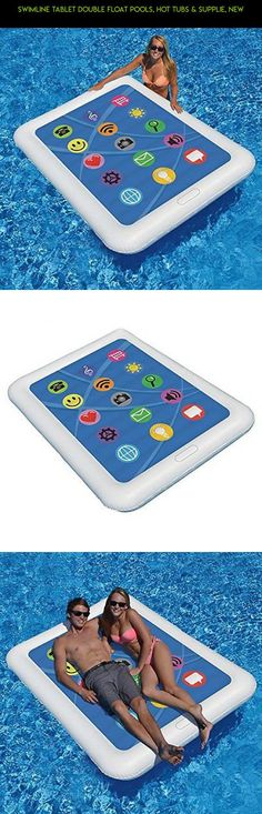 Swimline Tablet Double Float Pools, Hot Tubs & Supplie, New #& #products #shopping #pools #supplies #technology #fpv #kit #racing #camera #hot #drone #plans #parts #tech #gadgets #tubs
