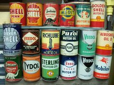 collecting oil cans - Primarily Petroliana Shop Talk