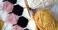 """Kuvittelin neulovani """"pikkuideani"""" Hanko-langasta nopeasti, mutta niin se vain elämä heittelee naista ja pyöröpuikkoja vastakkaisiin suuntii... Wool Socks, Knitted Hats, Knitting, Diy, Dots, Woolen Socks, Tricot, Bricolage, Knit Caps"""