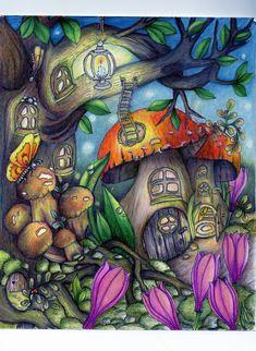 From Tenderful Enchantments by Klara Markova using Prismas/Signo gel pen