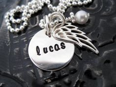 Personalized Necklace, Metal Stamping, Hand Stamped, Bracelets, Silver, Jewelry, Jewlery, Jewerly, Metal Embossing