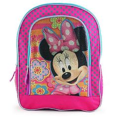 Minnie Mouse Sequined Backpack