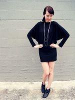 yo elijo coser: Vestido mangas de murciélago. Patrón y tutorial