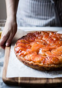 PINK PEARL APPLE & CALVADOS TARTE TATIN with BUTTERMILK WHOLE GRAIN FOUR-FLOUR ALL-BUTTER CRUST [bojongourmet]