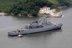 Portal do Porto: Embarcações da Marinha do Brasil aberto para visit...