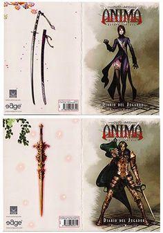 DadoDemente: Anima Beyond Fantasy - Diarios del Personaje
