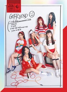GFRIEND are preparing for a summer comeback on July and today they released a bunch of teaser photos. Although the teaser images' resolution isn't big, the quality is as always the best available: Kpop Girl Groups, Korean Girl Groups, Kpop Girls, Extended Play, K Pop, Gfriend Album, Lee Hyun Woo, Photoshoot Images, Fandom