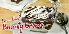 Bounty Creme – ein fantastisches Low-Carb Dessert