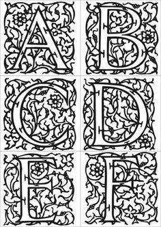 Risultati immagini per enluminures du moyen age Illuminated Letters, Illuminated Manuscript, Chateau Moyen Age, Art Worksheets, Medieval Times, History Medieval, European History, Medieval Art, Ancient History