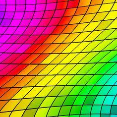 Seamless chromatic rainbow patterns 4