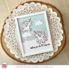 Karolyn and Katie are on the blog today. Check out their wonderful cards! This first card by Karolyn is just gorgeous. I love how she...