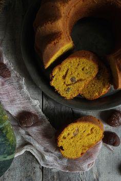 Vanilla&Staubzucker: Soft pumpkin cake with marron glacé - Torta morbida di zucca con marron glacé - Mekani kolač od buče s marron glacé