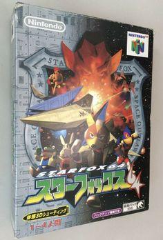 Nintendo 64, Star Fox 64, Japanese Imports, Metroid, Ebay