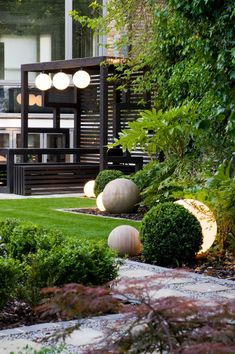 Japanese Garden Backyard, Modern Japanese Garden, Japanese Garden Landscape, Modern Backyard, Modern Landscaping, Outdoor Landscaping, Balcony Garden, Japanese Gardens, Garden Design Plans