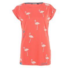 Flamingos Boyfriend Tee