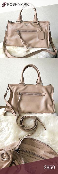 e682dbbbce6857 PRADA Bag PRADA BAULETTO -color CAMEO - used only once - 3 months old -