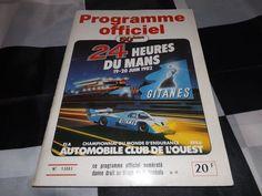 OFFICIAL LE MANS 24 HOURS 1982 RACE PROGRAMME PORSCHE 956 JACKY ICKX DEREK BELL