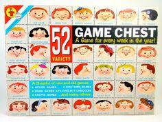 Vintage 52 Variety Game Chest