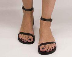 Sandals Leather sandals Ankle strap sandals Greek sandals