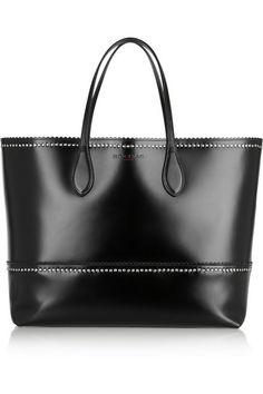ROCHAS Studded leather tote bag // ladylike!
