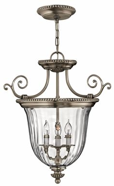 Hinkley Lighting carries many Pewter Cambridge Chandeliers light fixtures that can be used to enhance the appearance and lighting of any home.
