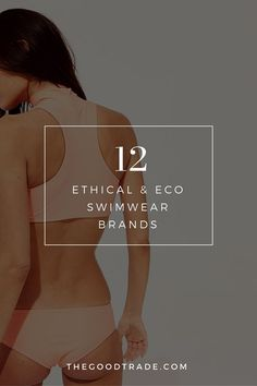 12 Ethical & Eco Swimwear Brands If You're Searching For The Perfect Fit - Women's style: Patterns of sustainability Ethical Fashion Brands, Ethical Clothing, Eco Clothing, Sustainable Clothing, Sustainable Fashion, Sustainable Living, Sustainable Products, Sustainable Style, Fashion Mode