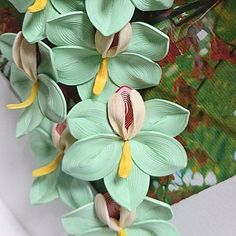 Green Orchids are one of my favorite flowers! #quilling #quillingpaper #quillingart #paperart #handmade #handcrafted #handcraft #flower #flowers #orchid #art #artistsoninstagram #artist #arts #instagram #insta #dailyart #green #paper #paperwork #artofvisuals #artoftheday #artists #artwork #
