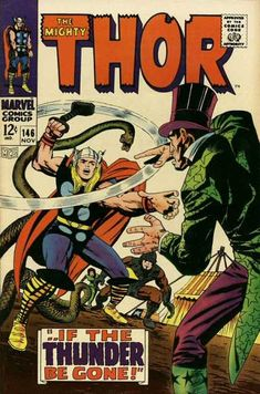 Top 100 Comic Book Covers | ... 146 - Hammer - Snake - Ringmaster - Top Hat - Circus Tent - Jack Kirby