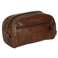 62803b5271d1 john lewis brown leather wash bag - Google Search Barbour Bags