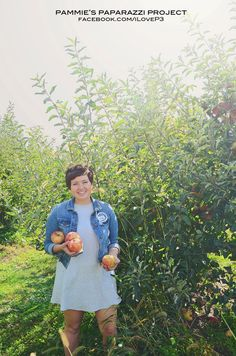 #photography #apple #appletrees #girl #happy #outdoor #fall #color #iowa #iLoveP3