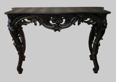 Vintage flourish table